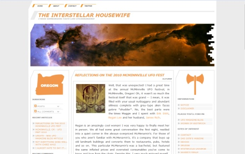 The Interstellar Housewife