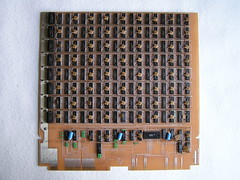 Memory board full of MHB 2102 chips