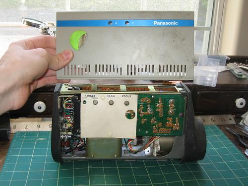 Panasonic WV-200 - Cover off