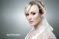 """Example Brides"" (Gemma Sutton) Tags: wedding brides bridal weddingmakeup weddinghair gemmasutton kristalikowski"
