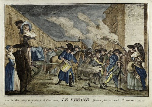 013-La bruja- Giuochi Trattenimenti e Feste Annue Che si Costumano in Toscana 1790- Giuseppe Piattoli