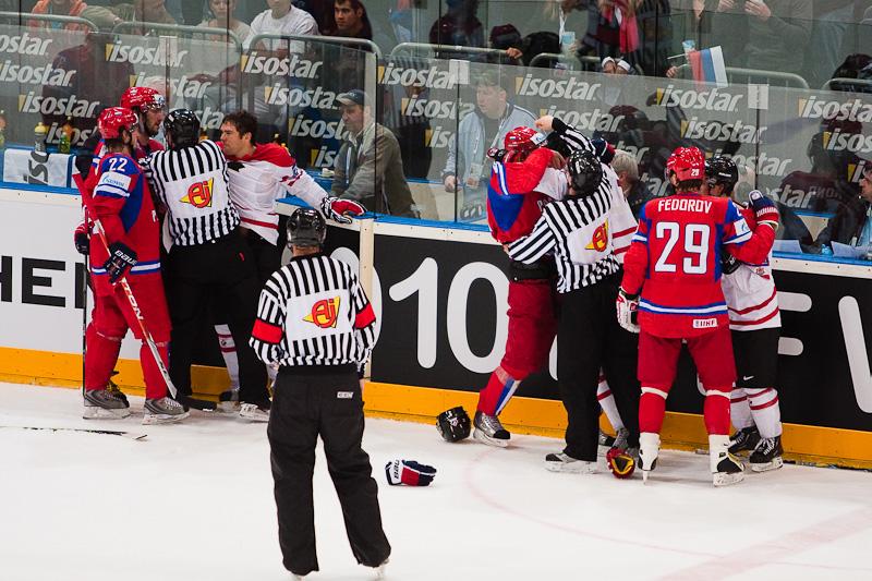 Russia vs. Canada. 2010 World Championship