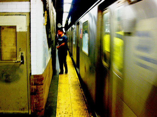 DAY 370: SUBWAY YELLOW