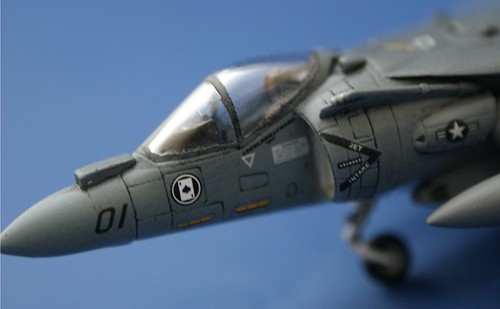 "Revell 1/144 AV-8B Harrier II plus - ""Ace of Spades"" - 2"