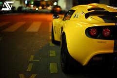 Lotus (A.G. Photographe) Tags: paris france car yellow night jaune nikon lotus bokeh voiture explore nikkor bp frontpage nuit franais flou anto exige xiii parisien lotusexige rmr d700 50mm14g antoxiii baladesparisiennes