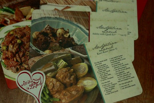 Lamb Recipe Cards
