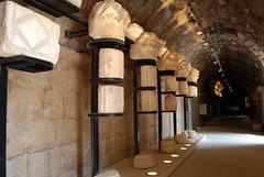 Temple of Zeus Complex - Museum -  Decapolis City of Gerasa - Jerash, Jordan (jrozwado) Tags: museum temple ruins asia pillar jordan zeus column jerash decapolis gerasa