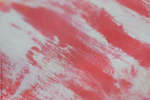 Brush away acryl from vaseline, detail 1