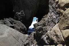Pfeiffer Beach cliffs (Michael.Lang) Tags: travel camping bigsur carmel pfeifferstatepark grx