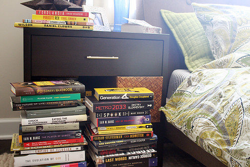 Book Storage in the Bedroom - Making it Lovely