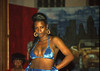 Sapphire and Baby Doll African American Exotic Blue Satin Bikini Swimwear Fashion Show Pulaski Hall 15th and West Huntingdon Park Avenue Philadelphia Aug 11 1995 197