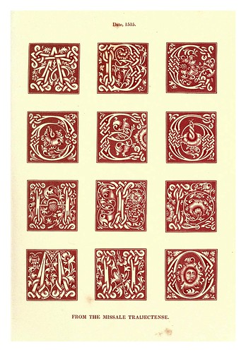 012-Siglo XVI-The hand book of mediaeval alphabets and devices (1856)- Henry Shaw