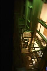 Green Blur (jbilohaku) Tags: sf sanfrancisco california usa window night ventana noche unitedstates eua fenetre estadosunidos nokte usono fenestro nokto