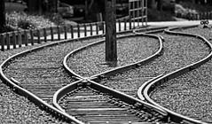 The Splits (Ian Sane) Tags: seattle railroad white black canon way ian photography eos bay washington downtown waterfront mark tracks ii sound 5d elliott splits puget alaskan sane the