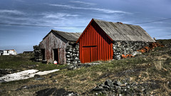 Norwegian Boathouse 2 - (HDR)