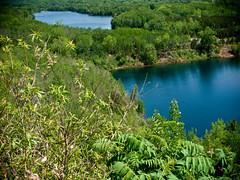 Vast Overlook (Tiffibunny) Tags: sky lake nature water minnesota clouds landscape iron mines mn crosby recreationarea crowwingcounty pitlake cayuna cayunacountrystaterecreationarea