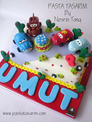 CARS BIRTHDAY CAKE - UMUT