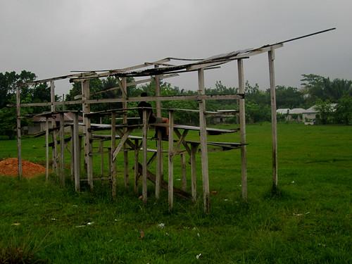 Frontera Corozal 16 - Masterful spectator stand