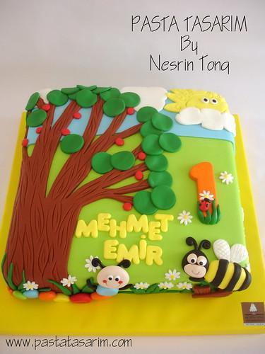 1st BIRTHDAY CAKE - MEHMET EMIR