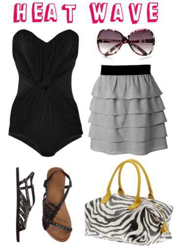 Polyvore: Heat Wave