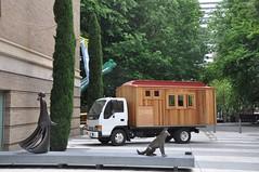 Housetruck at Portland Art Museum