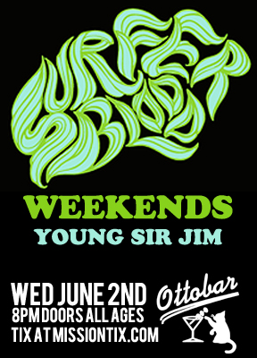 Surfer Blood / Weekends @ Ottobar