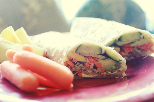 vegan wraps.