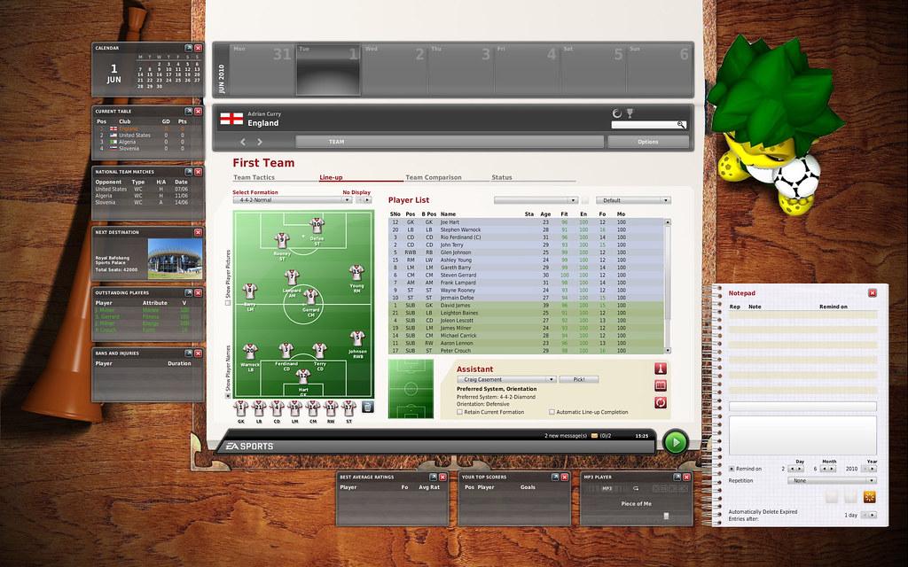 FIFAMANAGER.RU - фанатский сайт об играх серии FIFA Manager.