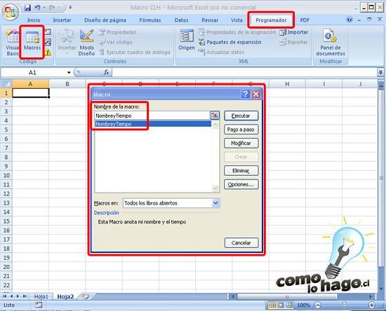 Cmo Lo Hago  Cmo hacer una macro en Excel