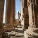 Monumental columns at Baalbek