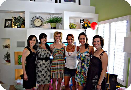 the girls: Tatum, me, Kati, Em, Shirl, and Erin <3