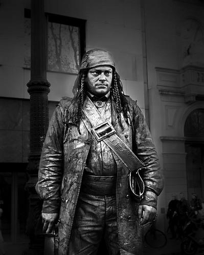 Human Statue (Las Ramblas de Barcelona)