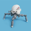 Miharii v3.0 - Sentry Gunner (Fredoichi) Tags: lego space military robots walker micro mecha mech sentry microscale fredoichi