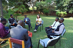 1a. Meeting with Mr Wona, , Globe Metals headquarters, Lilongwe