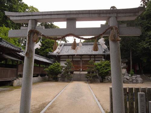 2体の重文像を祀った古社『鴨山口神社』@御所市