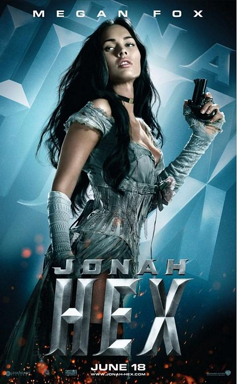 Jonah hex Leila poster