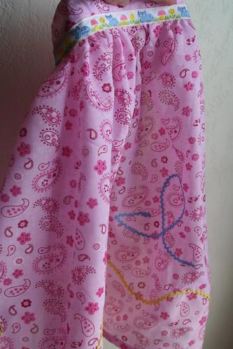 Isabella's apron