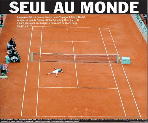 L'Equipe - Rafael Nadal
