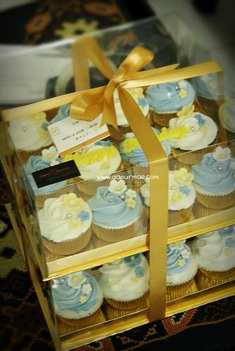 Bluish Cupcakes