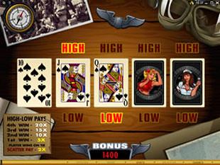 free Bomber Girls gamble bonus game