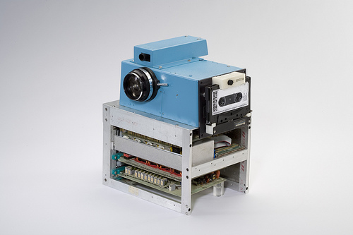 First digital camera, compacting the methods of structureing visual data aggregation and representation.