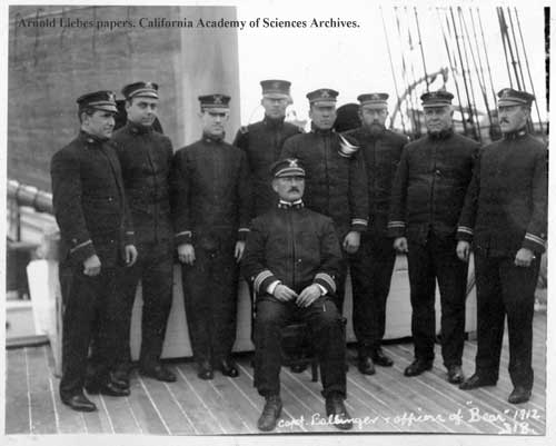 Captain Ballinger and officers of Bear.