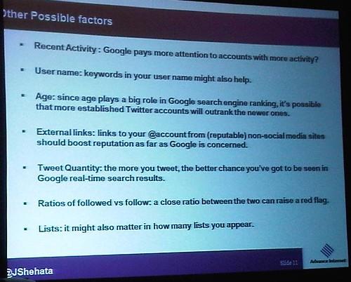 other possible factors slide