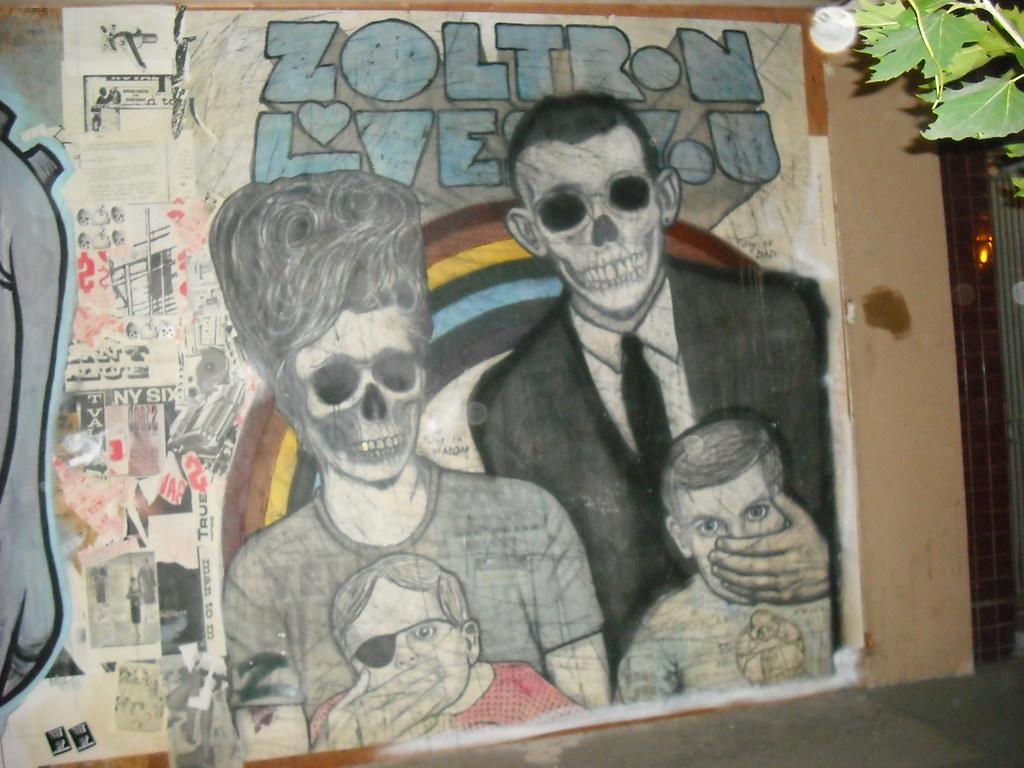 ZOLTRON paste up - San Francisco, Ca