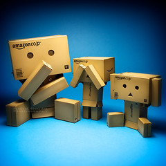 064/365:  The Three Wise Danbos. (Randy Santa-Ana) Tags: toys japanese see evil wise speak hear proverb danbo gf1 project365 danboard minidanboard minidanbo 365daysofdanbo