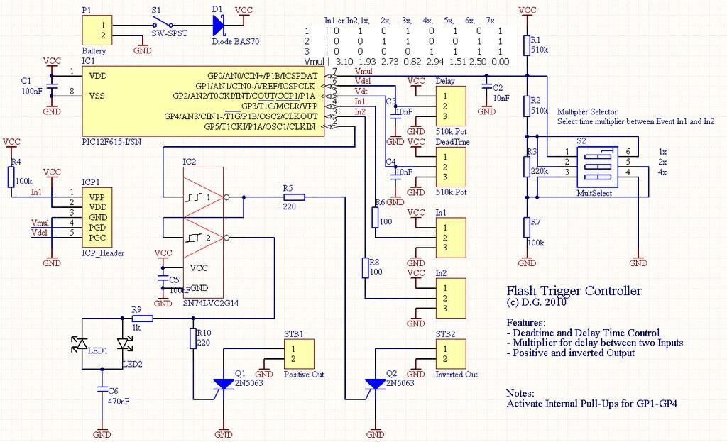 Trigger Controller Schematic