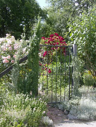 an elegant gate