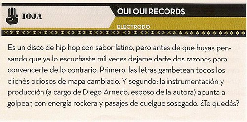 IOJA Soundsystem Electrodo @ Revista La Mano, junio 2010