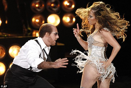 Les Grossman & Jennifer Lopez