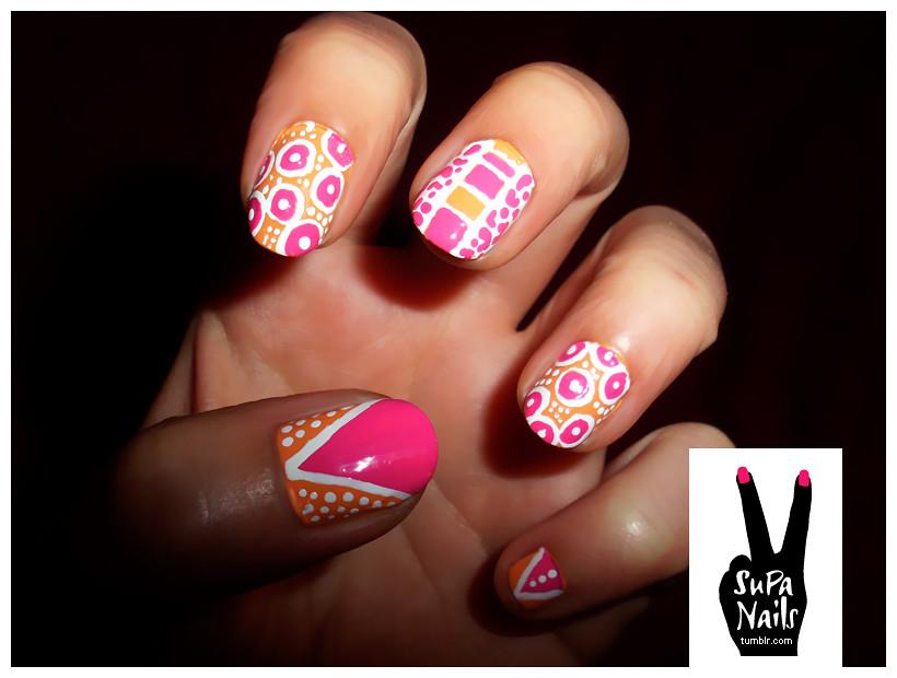 supa nails colorful gold - photo #28
